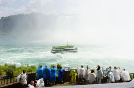 Niagara falls-journey behind the falls-outdoor observation deck