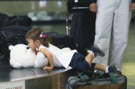 toddler air travel