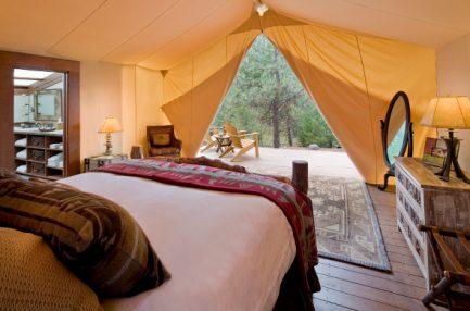 Creekside Camp Tent - Paws Up, Montana