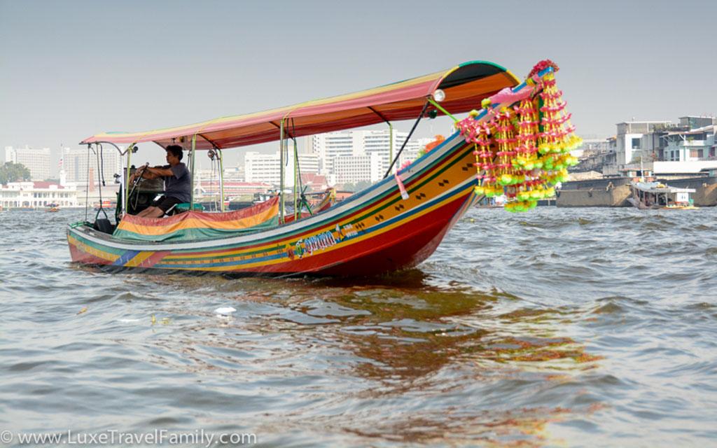 Explore Bangkok by Long Tail Boat