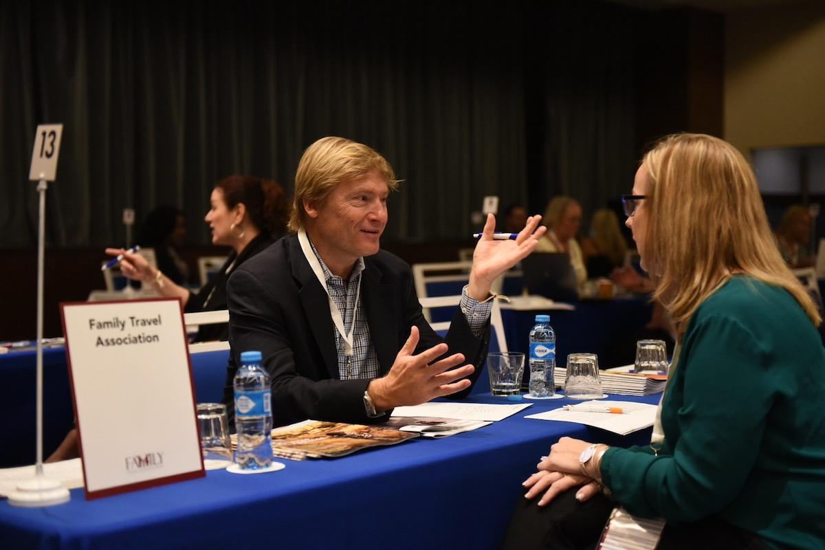 Rainer Jenss at 2016 Family Travel Advisor Forum